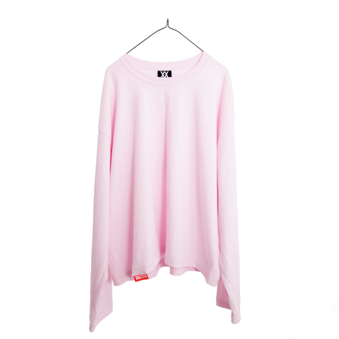 VAULTS101 VL LONG SLEEVE TEE 【PINK】