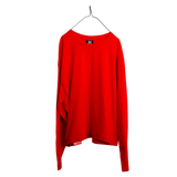 VAULTS101 VL LONG SLEEVE TEE 【RED】