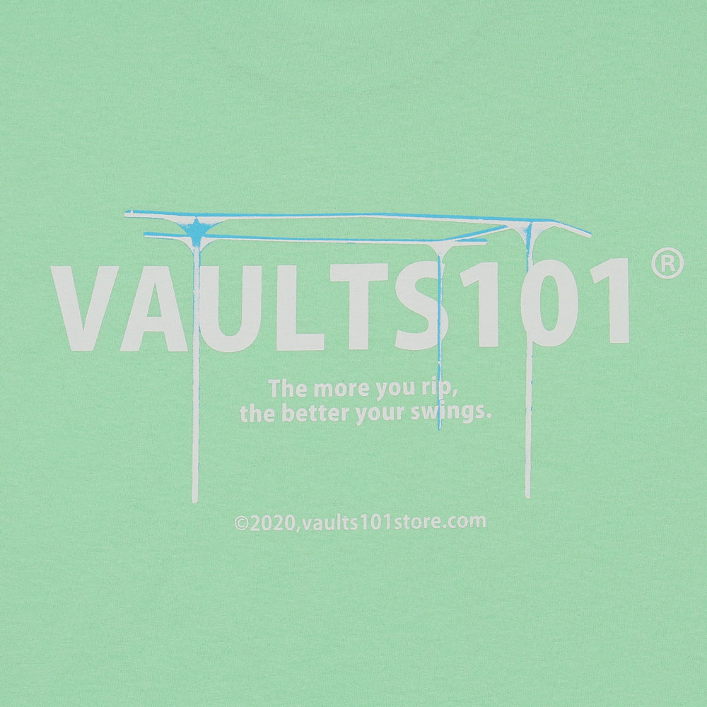 Vaults101®︎ BLUE BAR TEE