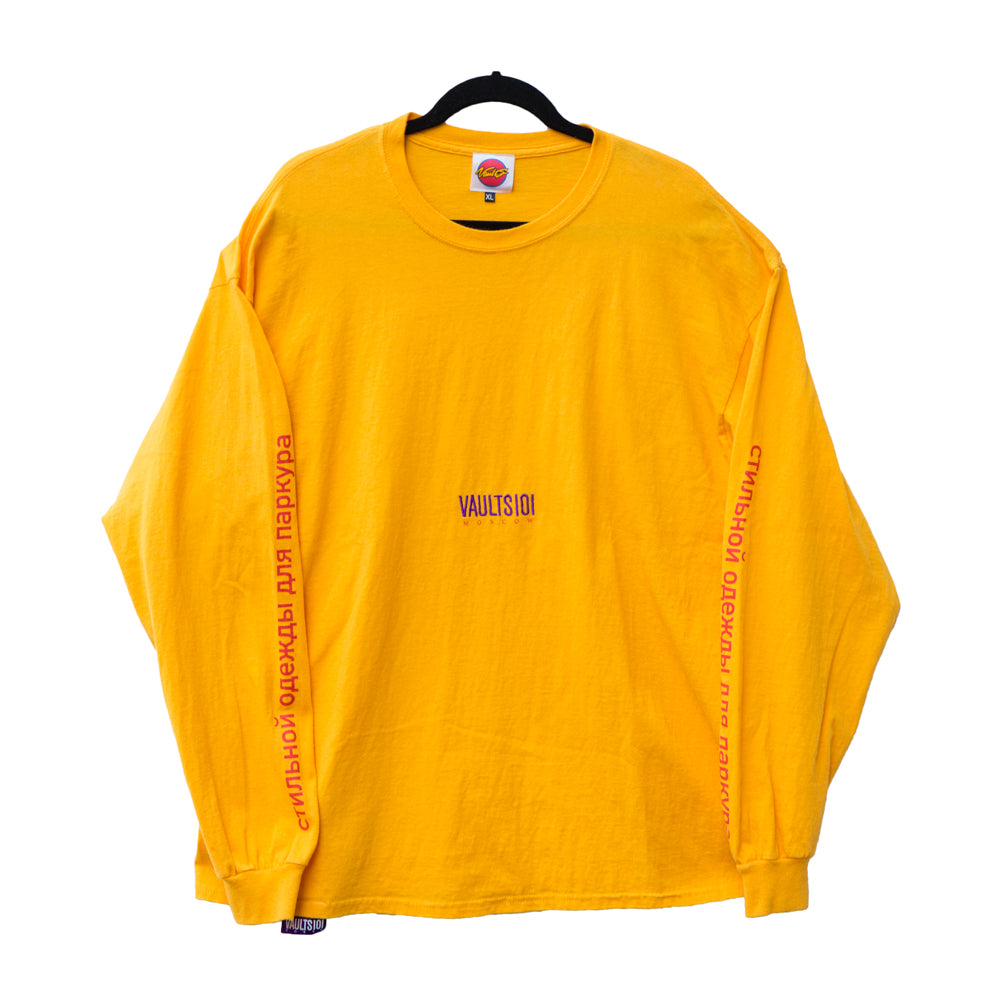 VAULTS101MOSCOW LONG SLEEVE 【YELLOW】