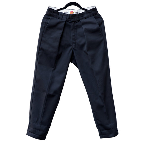 VAULTS101MOSCOW TUCK PANTS【BLACK】
