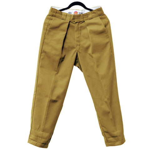 VAULTS101MOSCOW TUCK PANTS【BEIGE】