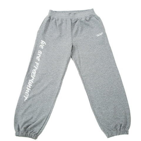 "VAULTS101 ""WE ARE FREERUNNER"" SWEAT PANTS 【GRAY】"