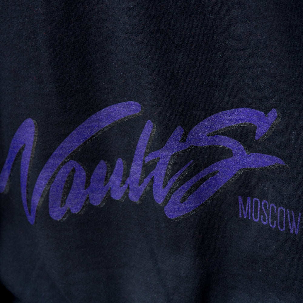 VAULTS101MOSCOW SWEAT SHIRTS 【BLACK】