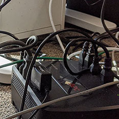 messy cables
