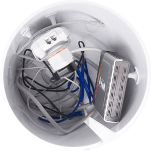 Inside of CableBin from top