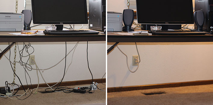 Cable Management CableBox Bluelounge