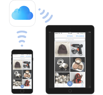 Sync Quick Peek data over iCloud account