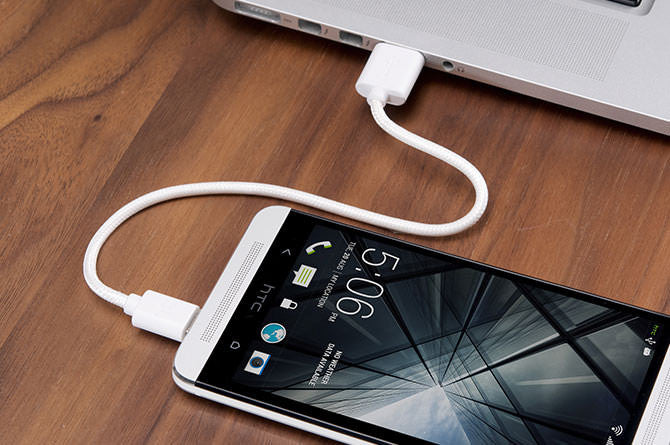 Charge & Sync cables connect to any USB to charge up devices
