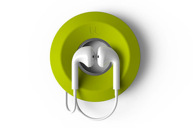 Cableyoyo is made from pocket-friendly soft silicone to wind up your earbuds and keep them tangle-free.