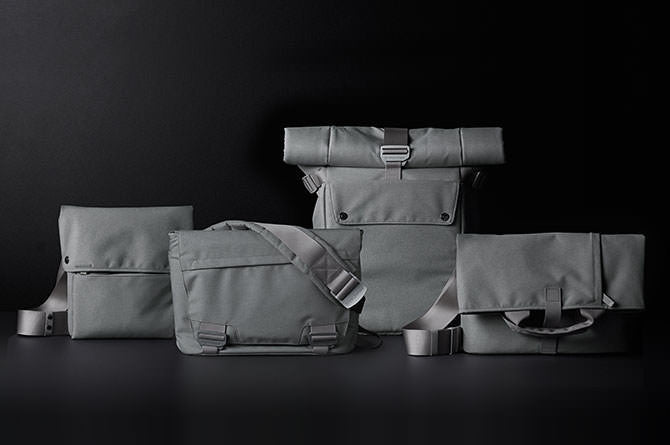 Bluelounge's Eco-friendly line is available in grey (pictured)
