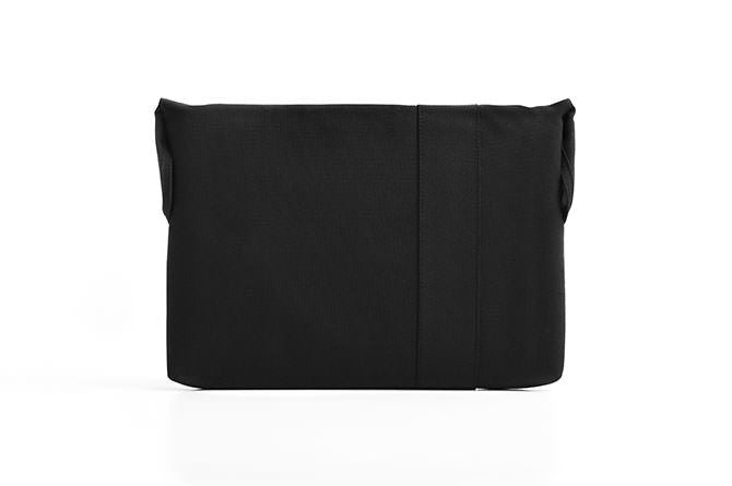The Laptop sleeve uses magnetic closures to keep the top closed