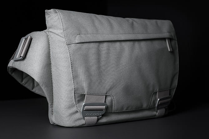 The Messenger Bag was designed with the commuter in mind