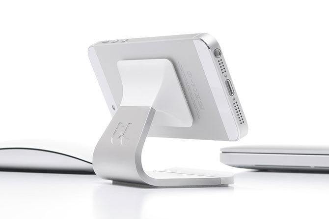 Milo makes the perfect desktop accessory giving your phone a place to call home