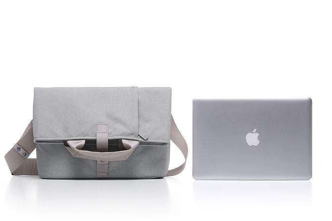 "The Postal Bag was designed to fit up to 13"" MacBook Pro"
