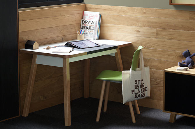 StudioDesk comes in two sizes to fit the space and needs of the user.