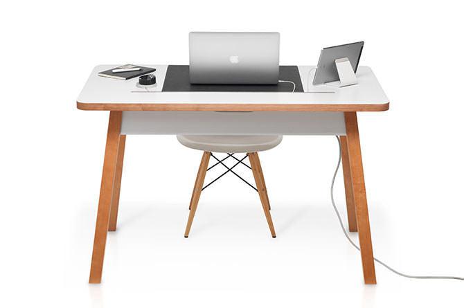StudioDesk comes in two sizes to accommodate the space and size requirements of the user.