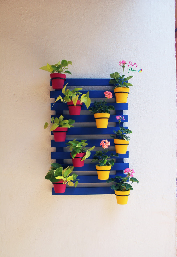 Rainbow Wall Planter