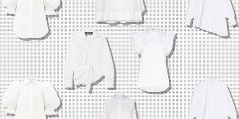 types of white shirts