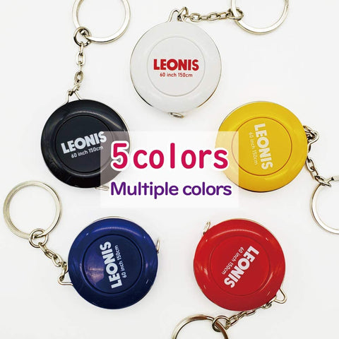 Spring Tape Measure (Key-ring Design) - LEONIS SHIRTS & FAVORITES