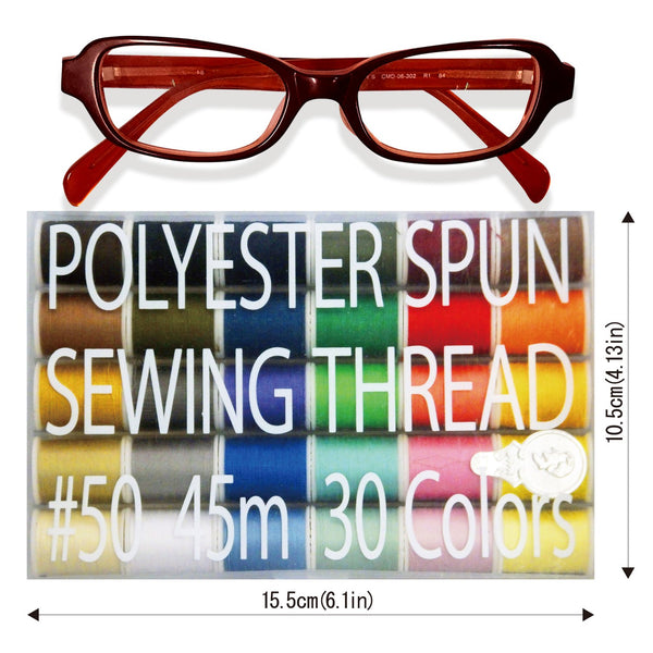Handy Polyester Sewing Thread 45m /100m 30 Colors - LEONIS SHIRTS & FAVORITES