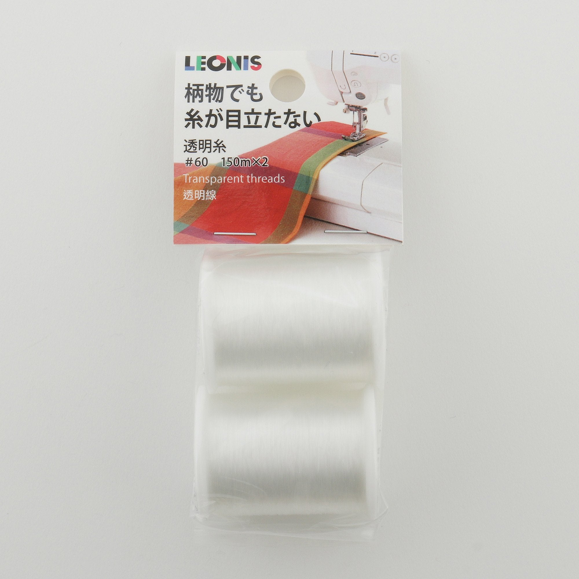 Clear Invisible Nylon Thread - LEONIS SHIRTS & FAVORITES