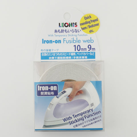 Iron-On Fabric Fusible Web Tape - LEONIS SHIRTS & FAVORITES