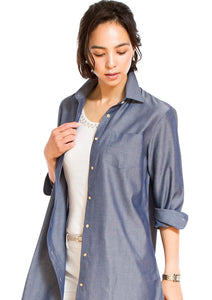 Denim  Tunic - LEONIS SHIRTS & FAVORITES