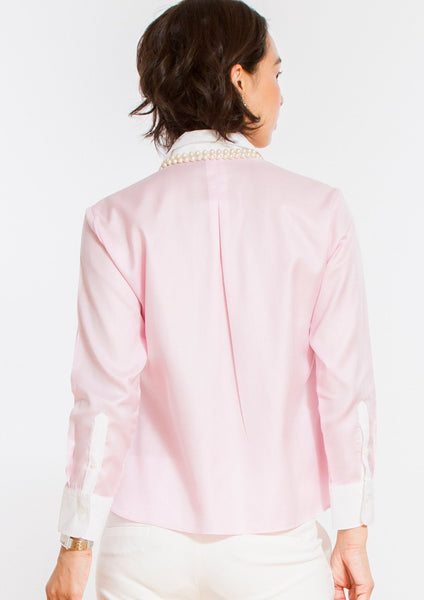 Non Iron Bracelet-Length Sleeve Untucked Shirt Pink - LEONIS SHIRTS & FAVORITES