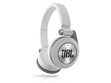 JBL Synchros E40 BT Bluetooth on-ear hovedtelefoner. Hvid