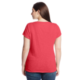 Levi's Juniors Plus Size Batwing Slub V Neck Tee