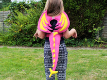 Kids Dragon Costume - Pink and Yellow