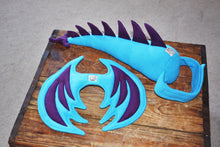 Kids Dragon Costume - Blue and Purple