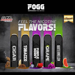 FOGG DISPOSABLE POD DEVICE
