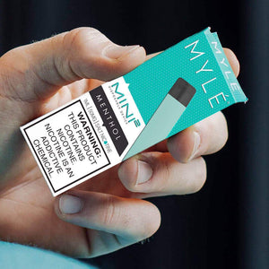 MYLE MINI 2 - MENTHOL DISPOSABLE DEVICE