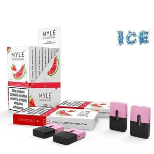 MYLE ICED WATERMELON FLAVOR 20MG - 10 PACKS