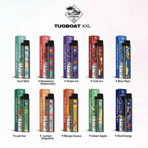 TUGBOAT XXL DISPOSABLE – 2500 PUFF-  Disposable Vape Devices