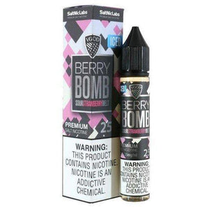 BERRY BOMB ICED BY VGOD SALT NIC