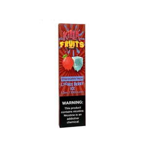 LYCHEE BERRY ICE BY KILLA FRUITS- DISPOSABLE VAPE DEVICES