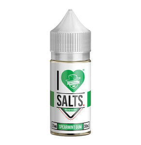 SPEARMINT GUM I LOVE SALTS BY MAD HATTER JUICE