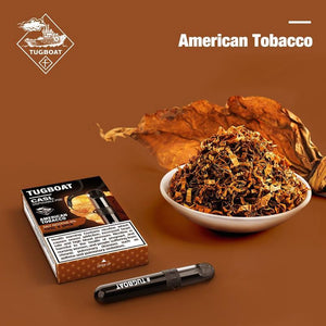 Tugboat V4 (CASL) - American Tobacco -  Disposable Vape Devices
