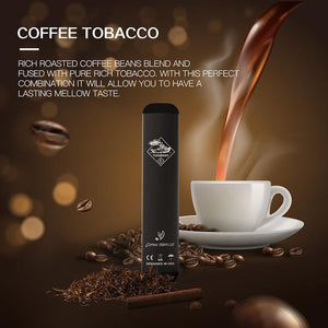 Tugboat V2 - Coffee Tobacco -  Disposable Vape Devices