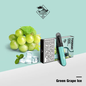 Tugboat V4 (CASL) - Green Grape Ice -  Disposable Vape Devices