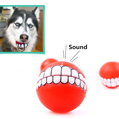 7cm dog pet toys ball sound for pet squeaky chew pet toys for puppies pet supplies