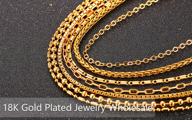 18K Gold Plated Jewelry Wholesale