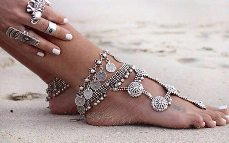 How to measure your anklet size?
