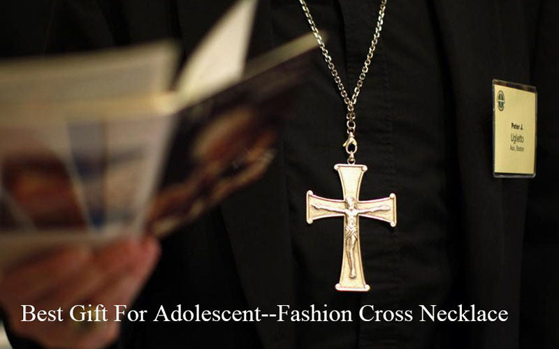 Best Gift For Adolescent-Fashion Cross Necklace