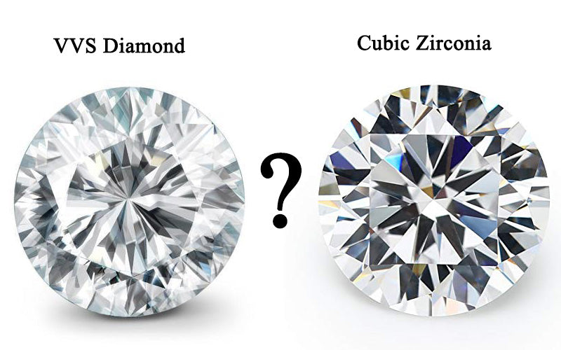 CZ(Cubic Zirconia) VS Diamond