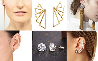 Different Types of Earrings