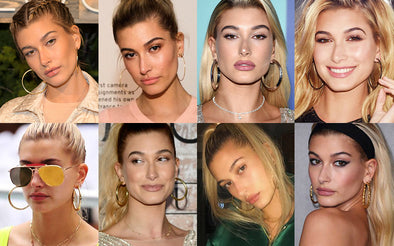 Hailey Baldwin Hoop Earrings